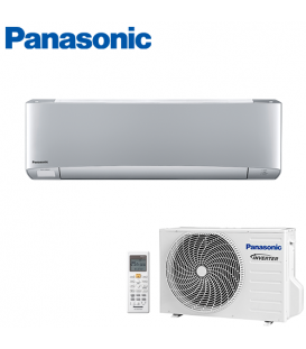 Aer Conditionat PANASONIC ETHEREA CS-XZ25TKEW / CU-Z25TKE Silver R32 Inverter Plus 9000 BTU/h