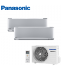 Aer Conditionat MULTISPLIT PANASONIC ETHEREA SILVER CU-2Z35TBE / 2x CS-XZ20TKEW Dublu Split Inverter
