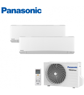 Aer Conditionat MULTISPLIT PANASONIC ETHEREA WHITE CU-2E12SBE / CS-Z7SKEW + CS-Z9SKEW INVERTER 7+9k BTU/h
