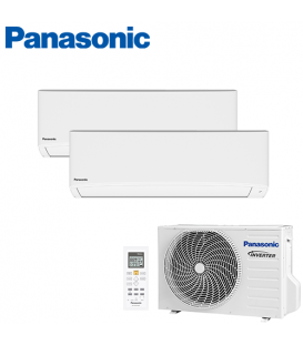 Aer Conditionat MULTISPLIT PANASONIC COMPACT INVERTER CU-2E18SBE / 2x CS-TZ12TKEW 2x12k BTU/h