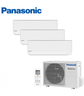 Aer Conditionat MULTISPLIT PANASONIC COMPACT INVERTER CU-3E18PBE / 3x CS-TZ9TKEW 3x9k BTU/h