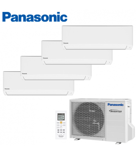 Aer Conditionat MULTISPLIT PANASONIC COMPACT INVERTER CU-4E23PBE / 4x CS-TZ9TKEW 4x9k BTU/h