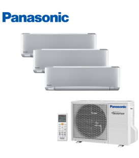 Aer Conditionat MULTISPLIT PANASONIC ETHEREA SILVER CU-3E18PBE / 3x CS-XZ7SKEW INVERTER 3x7k BTU/h
