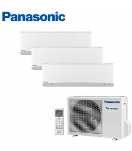 Aer Conditionat MULTISPLIT PANASONIC ETHEREA WHITE CU-3E18PBE / 3x CS-Z7SKEW INVERTER 3x7k BTU/h