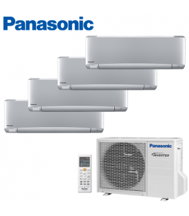 Aer Conditionat MULTISPLIT PANASONIC ETHEREA SILVER CU-4E23PBE / 4x CS-XZ9SKEW INVERTER 4x9k BTU/h