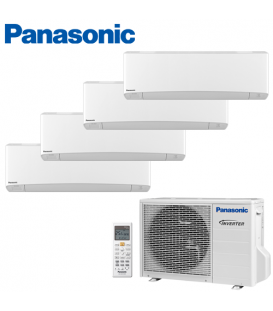 Aer Conditionat MULTISPLIT PANASONIC ETHEREA WHITE CU-4E23PBE / 3x CS-Z7SKEW + CS-Z12SKEW INVERTER 3x7+12k BTU/h