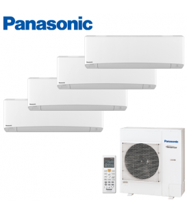 Aer Conditionat MULTISPLIT PANASONIC ETHEREA WHITE CU-4E27PBE / 3x CS-Z9SKEW + CS-Z12SKEW INVERTER 3x9+12k BTU/h