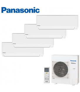 Aer Conditionat MULTISPLIT PANASONIC COMPACT INVERTER CU-4E27PBE / 4x CS-TZ12TKEW 4x12k BTU/h