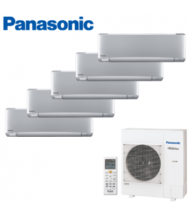 Aer Conditionat MULTISPLIT PANASONIC ETHEREA SILVER CU-5E34PBE / 5x CS-XZ12SKEW INVERTER 5x12k BTU/h