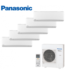Aer Conditionat MULTISPLIT PANASONIC ETHEREA WHITE CU-5E34PBE / 4x CS-Z9SKEW + CS-Z12SKEW INVERTER 4x9+12k BTU/h