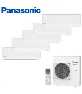 Aer Conditionat MULTISPLIT PANASONIC COMPACT INVERTER CU-5E34PBE / 5x CS-TZ9TKEW 5x9k BTU/h