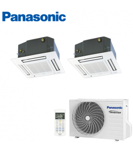 Aer Conditionat MULTISPLIT Caseta PANASONIC CU-2E15SBE / 2x CS-E9PB4EA INVERTER 2x9k BTU/h
