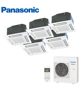 Aer Conditionat MULTISPLIT Caseta PANASONIC CU-5E34PBE / 5x CS-E9PB4EA INVERTER 5x9k BTU/h