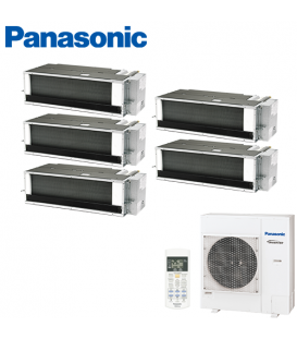 Aer Conditionat MULTISPLIT Duct PANASONIC CU-5E34PBE / 5x CS-E12QD3EAW INVERTER 5x12k BTU/h