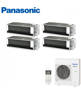 Aer Conditionat MULTISPLIT Duct PANASONIC CU-4E27PBE / 3x CS-E9PD3EA + CS-E12QD3EAW INVERTER 3x9+12k BTU/h