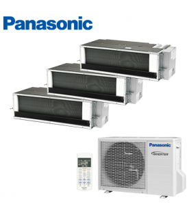 Aer Conditionat MULTISPLIT Duct PANASONIC CU-3E18PBE / 3x CS-E9PD3EA INVERTER 3x9k BTU/h