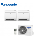 Aer Conditionat MULTISPLIT Pardoseala PANASONIC CU-2Z50TBE / 2x CS‑Z35UFEAW INVERTER 2x12k BTU/h