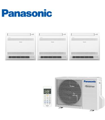 Aer Conditionat MULTISPLIT Pardoseala PANASONIC CU-3Z68TBE / 2x CS-Z25UFEAW + CS-Z35UFEAW Triplu Split Inverter