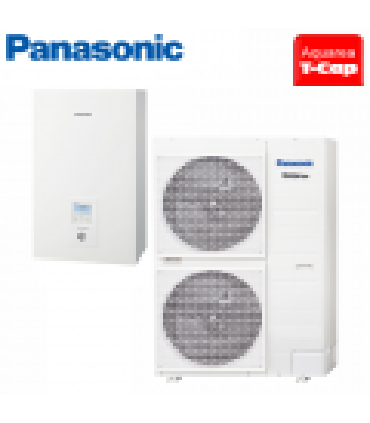Pompa de Caldura Panasonic AQUAREA T-CAP 12kW Bi-bloc 220V WH-SXC12H6E5 / WH-UX12HE5