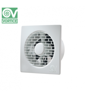"Ventilator axial de perete Vortice Punto Filo - Brass Bearing MF 100/4"" T"