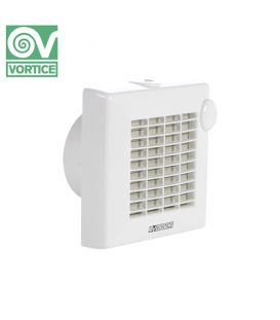 Ventilator axial de fereastra / perete Vortice Punto - Brass Bearing M 100/4 AP, debit 90 mc/h