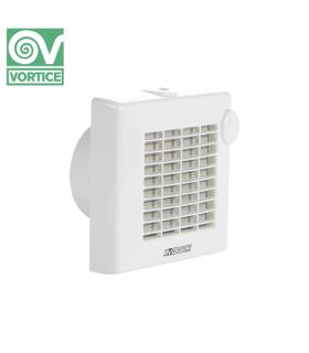 Ventilator axial de fereastra / perete Vortice Punto - LL Ball Bearing M 100/4 A PIR LL, debit 90 mc/h