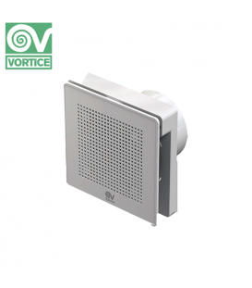 Ventilator axial de perete Vortice Punto Evo ME 100/4 LL T PIR, debit 95 mc/h