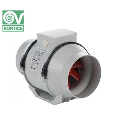 Ventilator axial de tubulatura Vortice LINEO 100 V0, debit 255 mc/h