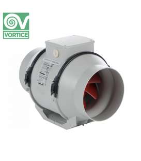 Ventilator axial de tubulatura Vortice LINEO 100 V0 T