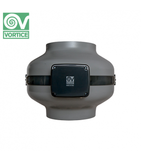 Ventilator axial de tubulatura Vortice CA 100 ES, debit 340 mc/h