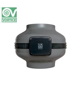 Ventilator axial de tubulatura Vortice CA 125 ES, debit 450 mc/h