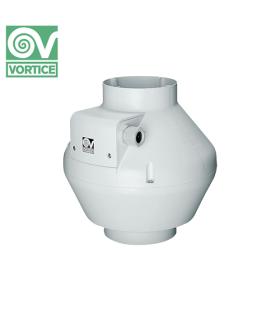 Ventilator axial de tubulatura cu autostingere Vortice CA 100 V0 D EP, debit 235 mc/h