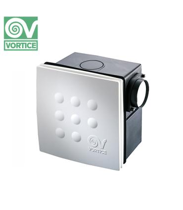 Ventilator centrifugal incastrabil pentru conducte Vortice Vort Quadro MEDIO I T EP AC, debit 180 mc/h