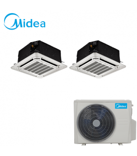 Aer Conditionat MULTISPLIT Caseta MIDEA M2OF-18HFN1 / 2x MCA3I-09HRFN1 Inverter 2 x 9000 BTU/H