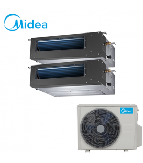 Aer Conditionat MULTISPLIT Duct MIDEA M2OF-18HFN1 / MTBI-09HWFN1 + MTBU-12HWFN1 Inverter 9000 + 12000 BTU/H