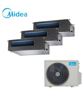 Aer Conditionat MULTISPLIT Duct MIDEA M3OE-27HFN1 / 2x MTBI-09HWFN1 + MTBU-12HWFN1 Inverter 2X 9000 + 12000 BTU/H