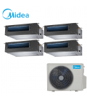 Aer Conditionat MULTISPLIT Duct MIDEA M4OE-28HFN1 / 4x MTBI-09HWFN1 Inverter 4 x 9000 BTU/H