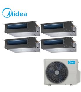 Aer Conditionat MULTISPLIT Duct MIDEA M4OB-36HFN1 / 4x MTBU-12HWFN1 Inverter 4 x 12000 BTU/H