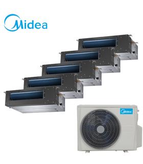 Aer Conditionat MULTISPLIT Duct MIDEA M5OE-42HFN1 / 5x MTBI-09HWFN1 Inverter 5 x 9000 BTU/H