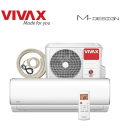 Aer Conditionat VIVAX M-Design ACP-12CH35AEMI Wi-Fi Ready Kit de instalare inclus R32 Inverter 12000 BTU/h
