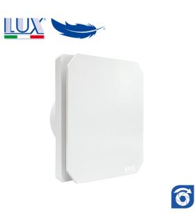 Ventilator axial de fereastra / perete / tavan LUX Levante 120, fabricat in Italia, clapet anti-retur, debit 140 mc/h