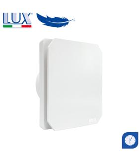 Ventilator axial de fereastra / perete / tavan LUX Levante 100, fabricat in Italia, timer, debit 100 mc/h