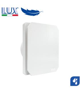 Ventilator axial de fereastra / perete / tavan LUX Levante 120, fabricat in Italia, senzor umiditate, debit 140 mc/h