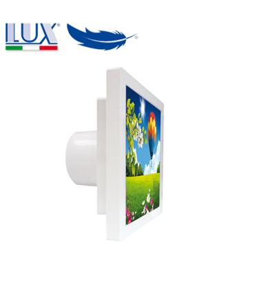 Ventilator axial LUX Grecale 100, fabricat in Italia, debit 100 mc/h, diametru 100 mm