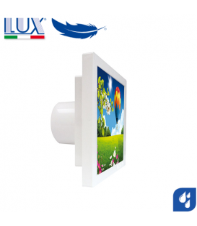 Ventilator axial LUX Grecale 150, fabricat in Italia, senzor umiditate, debit 160 mc/h