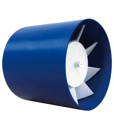Ventilator axial LUX Etesi 100, fabricat in Italia, timer, debit 120 mc/h