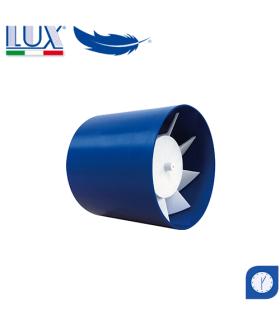 Ventilator axial LUX Etesi 120, fabricat in Italia, timer, debit 160 mc/h