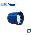 Ventilator axial LUX Etesi 120, fabricat in Italia, timer, debit 160 mc/h, diametru 120 mm