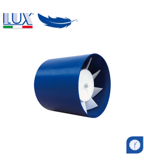 Ventilator axial LUX Etesi 150, fabricat in Italia, timer, debit 180 mc/h