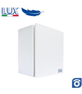 Ventilator centrifugal LUX Bora 80-100, fabricat in Italia, clapet anti-retur, debit 130 mc/h